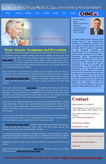 Panic Attacks- Symptoms and Prevention