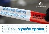 Stínová výroční zpráva Generální inspekce bezpečnostních sborů