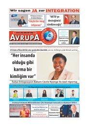 EUROPA JOURNAL - HABER AVRUPA DEZEMBER 2013