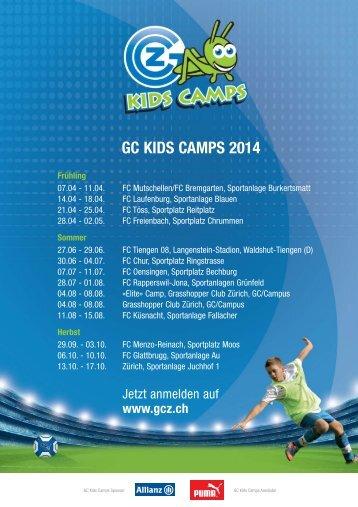 GC-Kids-Camps Termine 2014