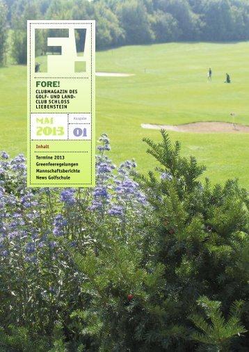 Mai FORE! - Golfclub Schloss Liebenstein