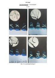 La nuit (art visuel) - Gomme & Gribouillages