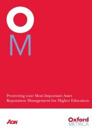 Reputation Management for Higher Education - Gonzaga University