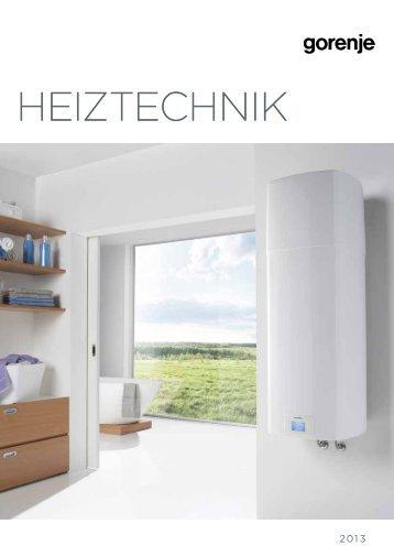 HEIZTECHNIK - Gorenje Austria