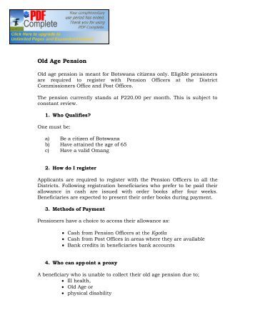 old age pension application form ontario