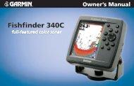 Fishfinder 340C Owner's Manual - GPS Central