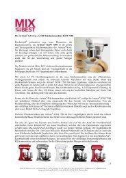 Die Artisan® 6.9 Liter, 1.3 HP Küchenmaschine KSM 7580 - Blume PR