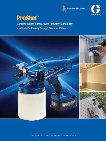 ProShot Brochure - Graco Inc.