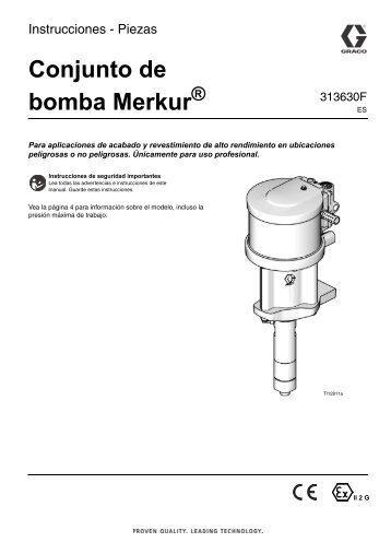 Piezas de la bomba - Graco Inc.