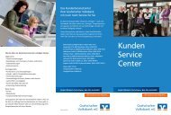 Kunden Service Center - Grafschafter Volksbank eG