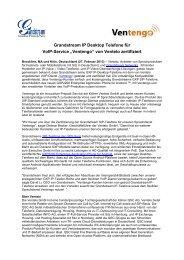 Grandstream IP Desktop Phones kompatibel mit