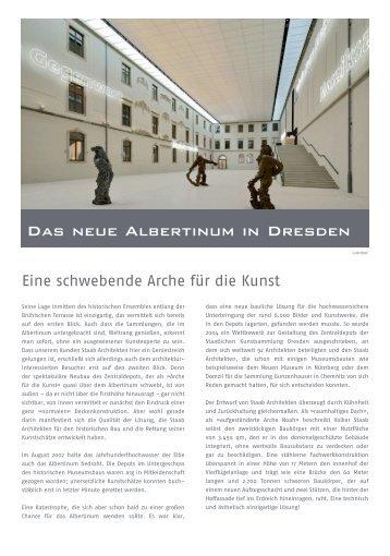 Das neue Albertinum in Dresden - GRAPHISOFT Deutschland GmbH