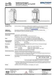 11.1 Schallschutz-Ganzglastür L&H Akustik Typ-A-SK1 ... - Grauthoff
