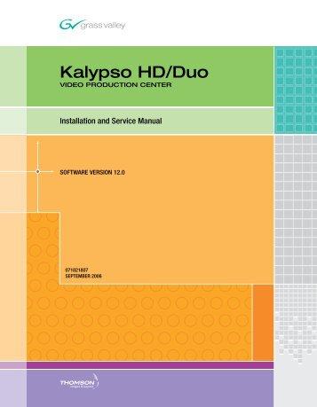 Kalypso version 150 installation service manual grass valley kalypso hd installation service manual version 120 grass valley publicscrutiny Image collections
