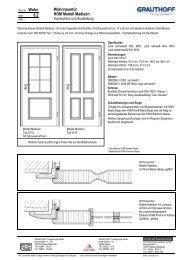 6.2 Wohnraumtür HGM Modell Madison - Grauthoff