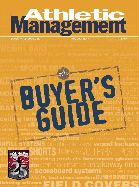 arriving exclusive deals shoes for cheap Athletic Management Buyers Guide 2013