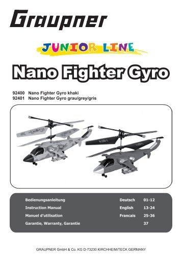 Nano Fighter Gyro - RC-Toy