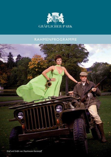 Rahmenprogramme Graflicher Park Hotel Spa