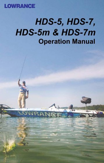 Operation Manual - Lowrance