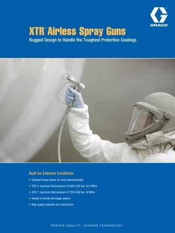 XTR™ Airless Spray Guns - Graco Inc.