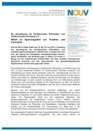 NOUV im Spannungsfeld von Tradition und Innovation - (GOTS).