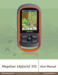 Magellan® eXplorist® 310 - Support - Magellan