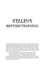 Preface - Greg Hallett and Spymaster