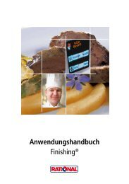 Anwendungshandbuch Finishing® - Grimm-Gastrobedarf