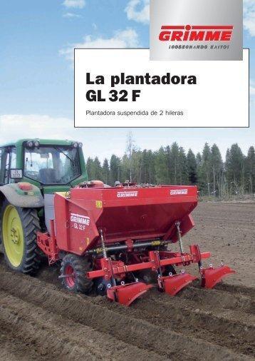 La plantadora GL 32 F