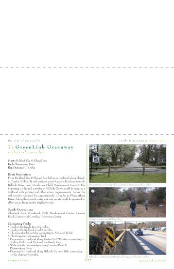 7: GreenLink Greenway - City of Greenville