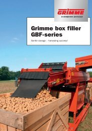 Grimme box filler GBF-series