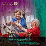 Download de brochure Kroonestede.