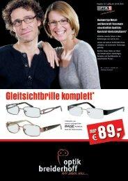 Gleitsichtbrille komplett* - Brillen Breiderhoff