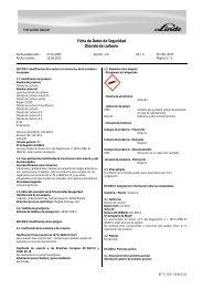 Ficha de Datos de Seguridad Dióxido de carbono - Grohe