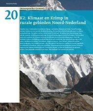 Klimaat en Krimp in rurale gebieden Noord-Nederland - Grontmij