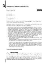 08.5035.02 - Grosser Rat - Basel-Stadt