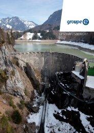 geschäftsbericht 2012 - Groupe E