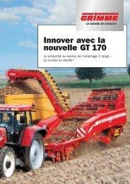 Innover avec la nouvelle GT 170