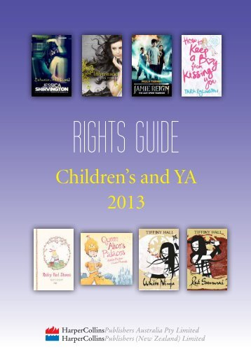 Children's and YA 2013