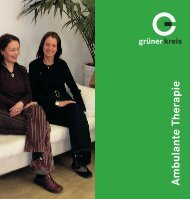 Ambulante Therapie - Grüner Kreis