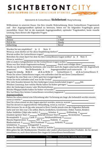 Fragebogen als .pdf-Datei herunterladen - Sichtbetont