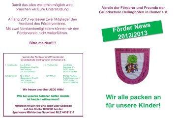 News (November 2012) - Grundschule Deilinghofen
