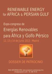 Dossier Patrocinio - Ecm European Conference Management