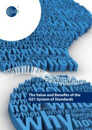 The Value and Benefits of the GS1 System of Standards