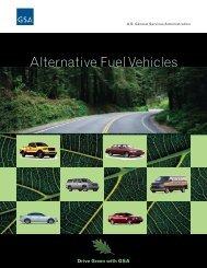 Alternative Fuel Vehicles - GSA