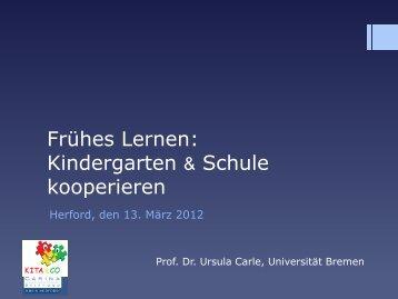 Vortragsfolien - Universität Bremen