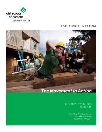 2011 annual MeetinG - Girl Scouts of Eastern Pennsylvania