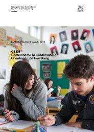 Bericht - gseh.ch - Gemeinsame Sekundarschule Erlenbach und ...