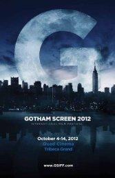 Download the Festival Program - Gotham Screen International Film ...
