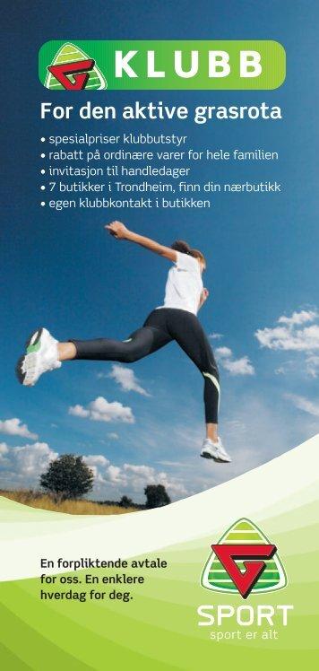For den aktive grasrota - G-Sport Trondheim